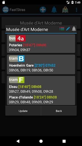 FastStras: capturas de pantalla de autobuses y tranvías 6