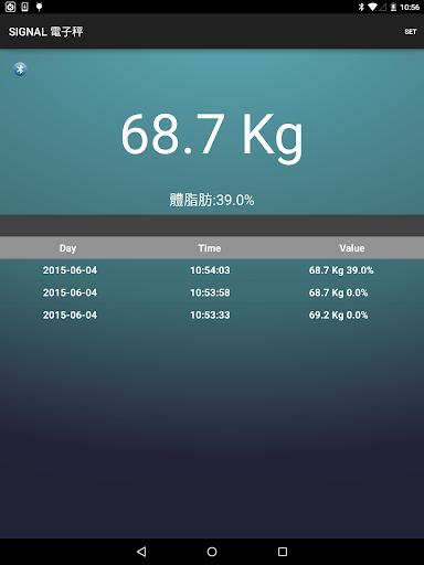 SIGNAL Body Fat Monitor