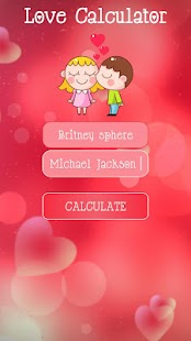 Valentines Love Calculator - náhled