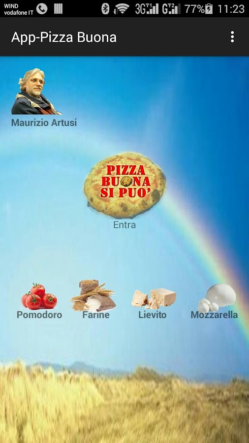 App-Pizza- screenshot