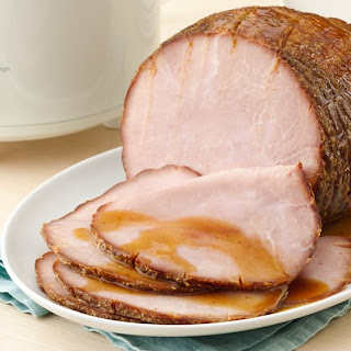 Slow-Cooker Maple-Brown Sugar Ham.