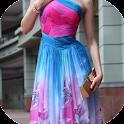 vestido longo icon