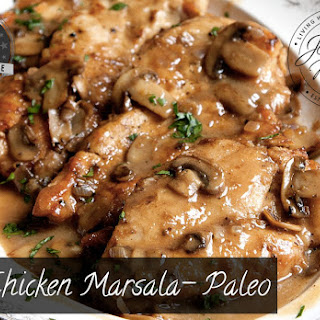 Chicken Marsala - Paleo