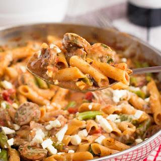 Chicken Italian Sausage Pasta Bake Recipes