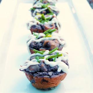 Purple Potato Puffs