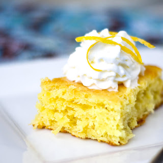 3 Ingredient Lemon Cake.