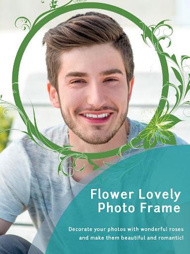 花卉可愛的相框