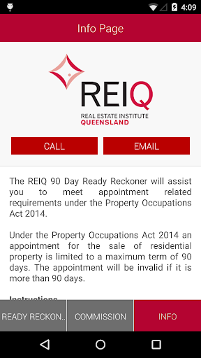 90 Day Ready Reckoner Screenshot 5