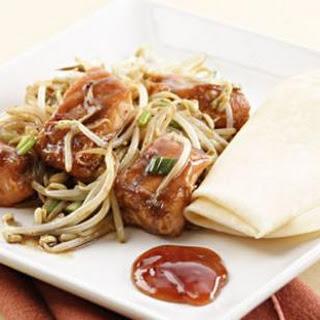 Black Bean-Salmon Stir-Fry