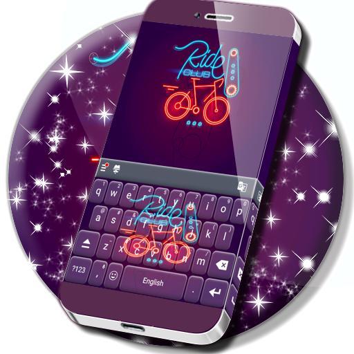 Fast Keyboard Neon Theme