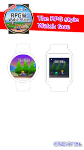 The RPG style Watch face- screenshot thumbnail