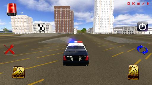 警车赛车模拟器
