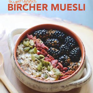 Superfood Bircher Muesli.