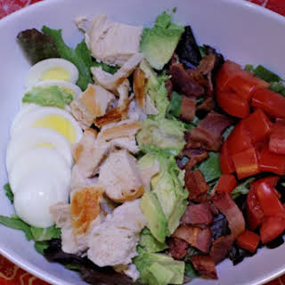 Cobb Salad w/ Homemade Ranch Dressing.
