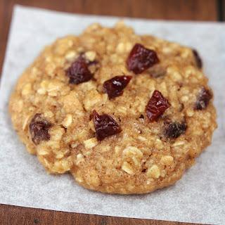 Cherry Peanut Butter Oatmeal Cookies.