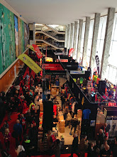 Photo: Palais des congrès - retrait des dossards