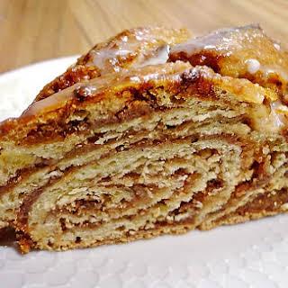 Sweet Braided Nut Bread – German Nusszopf.