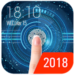 Lock Screen Security with Fingerprint Prank Icon