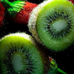 kiwi chili chili kiwi by Angelo Jadulco - Food & Drink Fruits & Vegetables ( kiwi, chili )