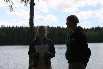 Photo: Leena sai Hämeen Partiopiirin pronssisen ansiomitalin