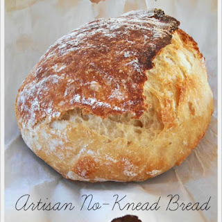 Artisan No-Knead Bread.