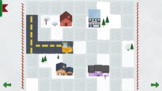 Johnny Tractor's Snow Day- screenshot thumbnail