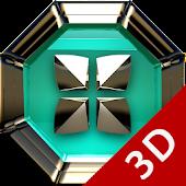 Next Launcher Theme Triqua 3D