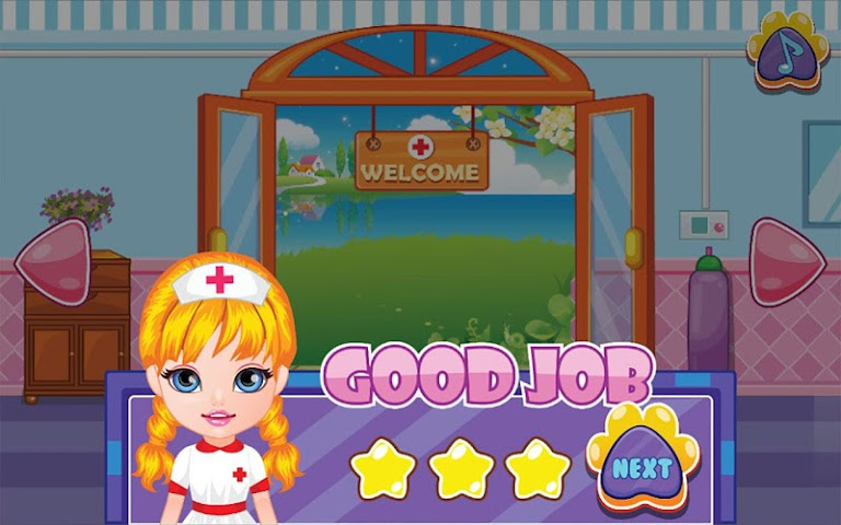 android Pets Clinic - Kids Doctor game Screenshot 14