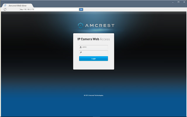 Amcrest Web View