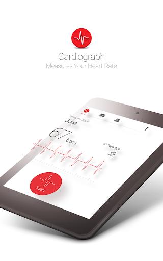 Cardiograph - Heart Rate Meter screenshot 11