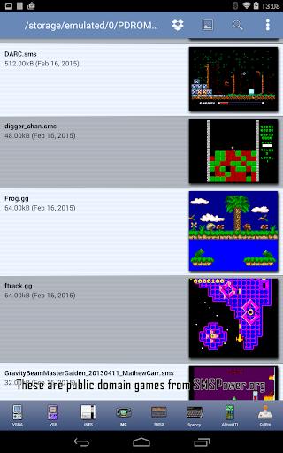 MasterGear - MasterSystem & GameGear Emulator screenshots 15
