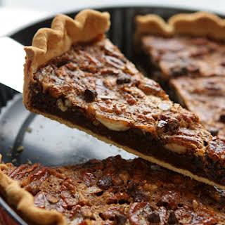 Chocolate Pecan Pie.