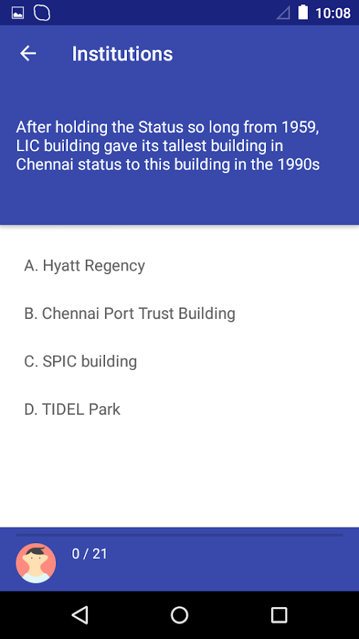 Madras - Chennai City Quiz- screenshot