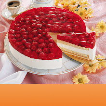 Abbildung Himbeer-Käse-Sahne-Torte