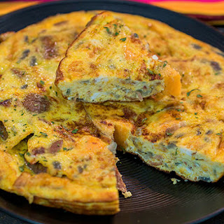 Quick & Easy Spanish Omelette.