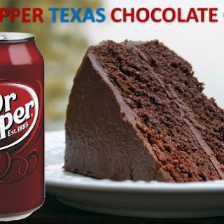 DR PEPPER TEXAS CHOCOLATE CAKE