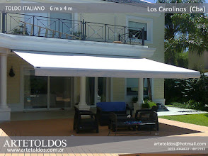 Photo: toldo brazo invisible artetoldos 1