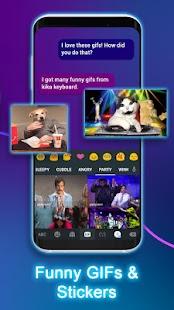 Kika Keyboard - Emoji Keyboard, Emoticon, GIF Screenshot
