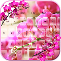 SMS Pink Orchid Flower Theme APK