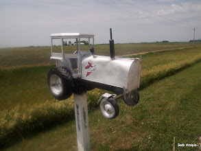 Photo: I'm a sucker for neat mailboxes
