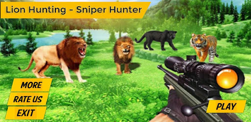 Lion hunting - Sniper Shooting full of Adventure  and new Experience game