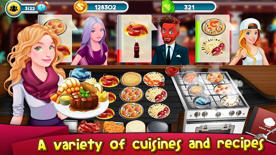 Vaření Hry Story Chef Business Restaurace Jídlo - náhled