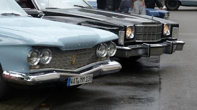Photo: Plymouth Savoy & Ford Gran Torino Elite