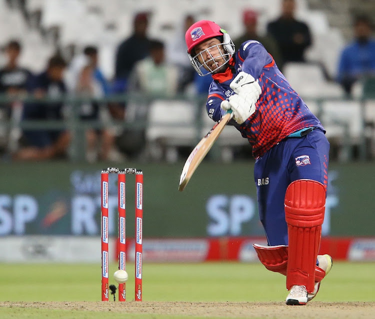 On the mark: Cape Town Blitz captain Farhaan Behardien says the pressure is mounting on all the teams at this stage of the Mzansi Super League tournament. Picture: CARL FOURIE/GALLO IMAGES