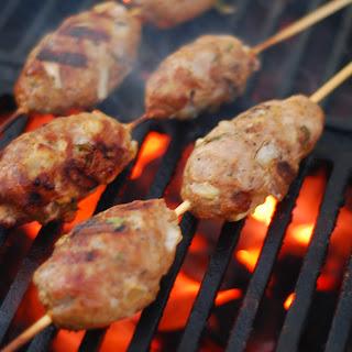Lamb Kofta Kebabs.
