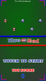Blue and Red - náhled