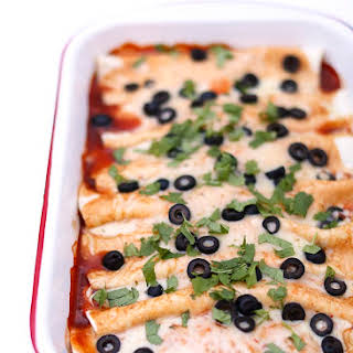 Beef Enchiladas With A Green Sauce Recipes.