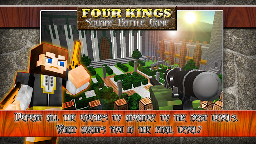 Four Kings: Square Battle Game