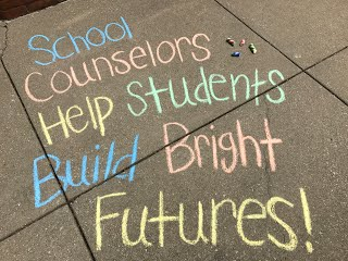 School counselors help students build bright futures!