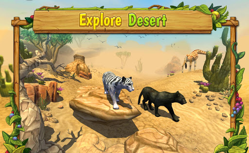 Panther Family Sim Online - Animal Simulator  screenshots 5